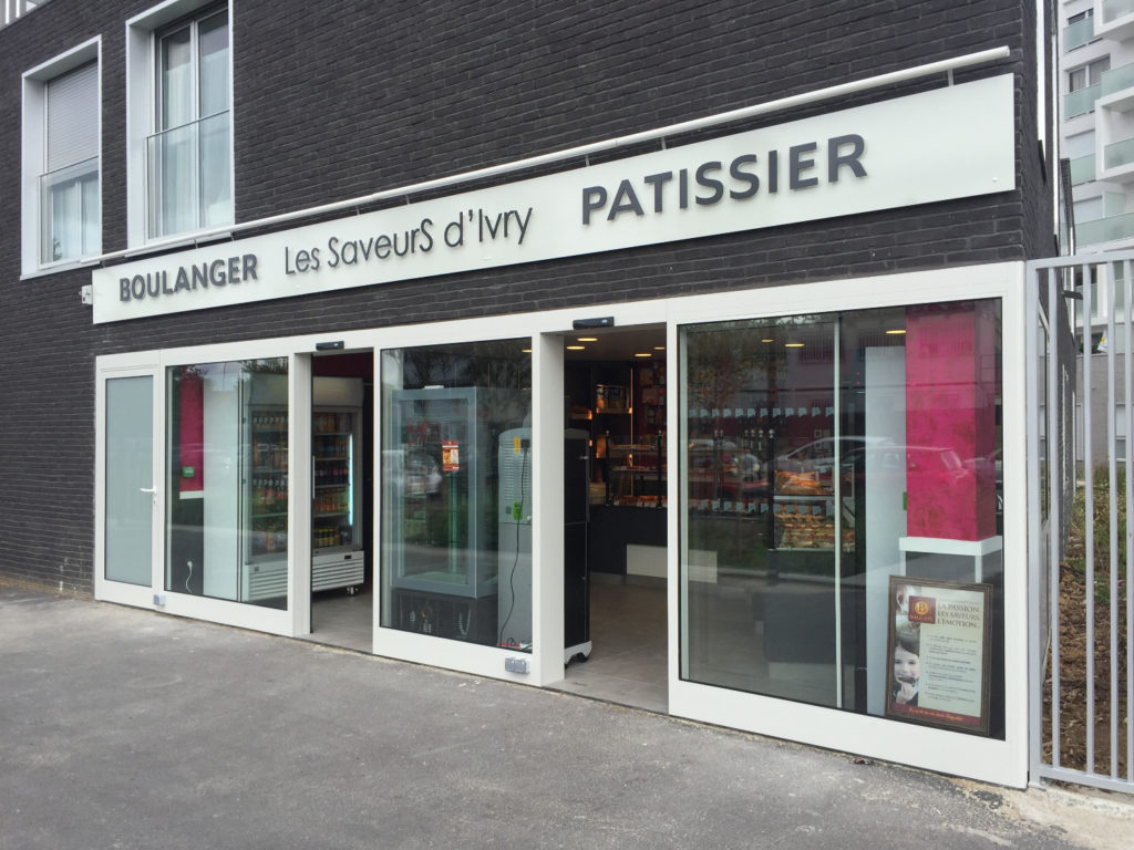 Cogedim - ZAC Ivry Confluences - Boulangerie