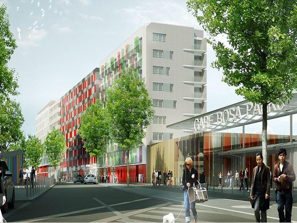 Linkcity - Paris Gare Rosa Parks - Boulangerie